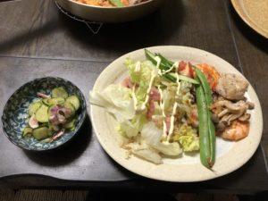 7月11日晩御飯の画像