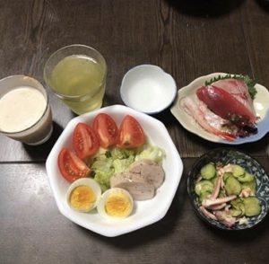 7月10日晩御飯の画像