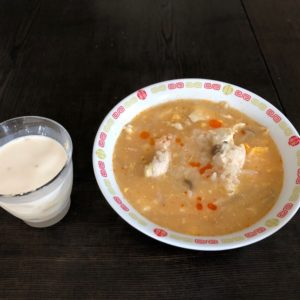 7月10日お昼ご飯の画像
