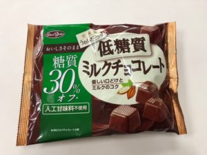 低糖質チョコレートの画像