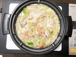 ラーメン鍋の画像