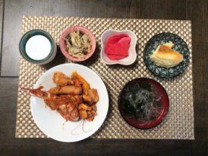 ゆるめの糖質制限お昼ご飯の画像