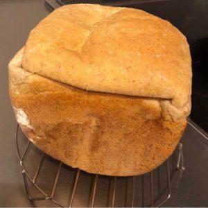 小麦ふすま粉を利用したブランパンの画像