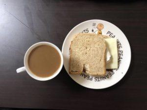 ゆる糖質制限の朝ごはん