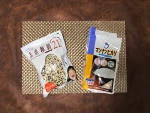 雑穀米とマンナンヒカリの画像