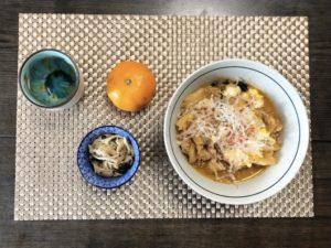 ゆる糖質制限お昼ご飯の画像