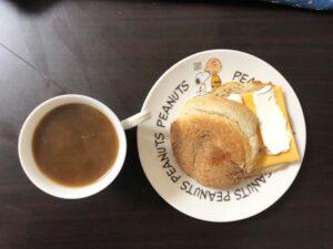 ゆる糖質制限の朝ごはんの画像