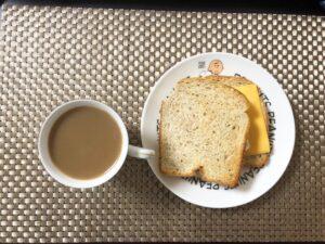 ゆる糖質制限の朝ご飯の画像