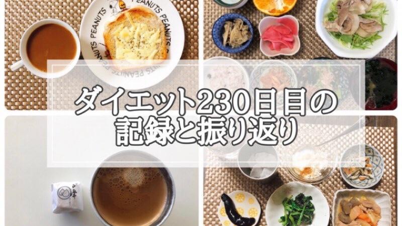 ゆる糖質制限230日目の食事の画像