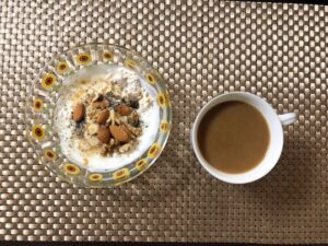 ゆる糖質制限の朝ごはんオーバーナイトオーツの画像