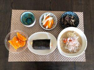 ゆる糖質制限のお昼が範の画像
