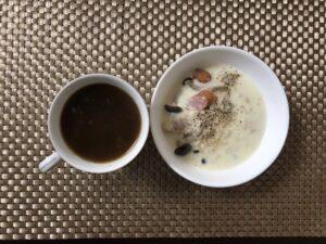 ゆる糖質制限朝ごはんの画像