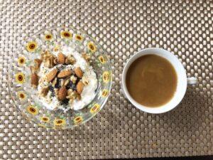 ゆる糖質制限ダイエット朝ごはんオーバーナイトオーツの画像