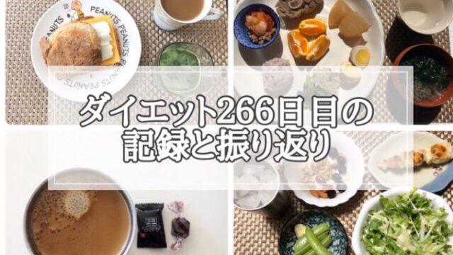 ゆる糖質制限266日目に食べたものの画像