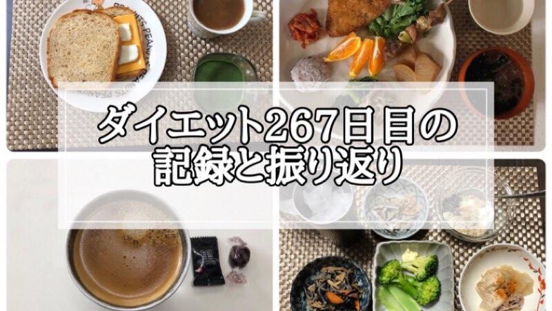 ゆる糖質制限267日目に食べたものの画像