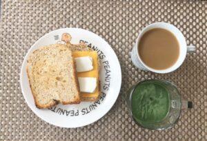 ゆる糖質制限ダイエットの朝ごはん