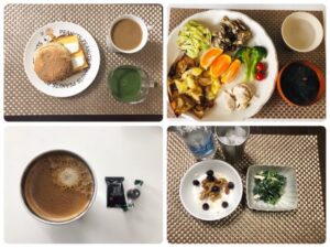ゆる糖質制限ダイエット284に日目に食べたものの画像
