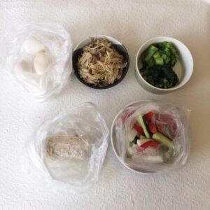 ゆる糖質制限ダイエット用の簡単な作り置きの画像