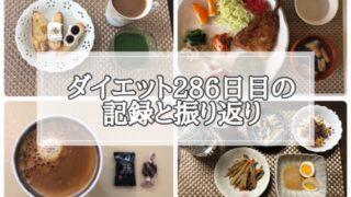 ゆる糖質制限ダイエット286日目に食べたものの画像