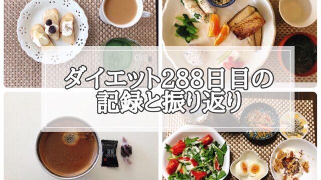 ゆる糖質制限ダイエット288日目に食べたものの画像