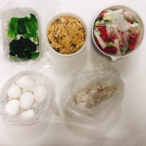 ダイエット用の簡単な作り置きの画像