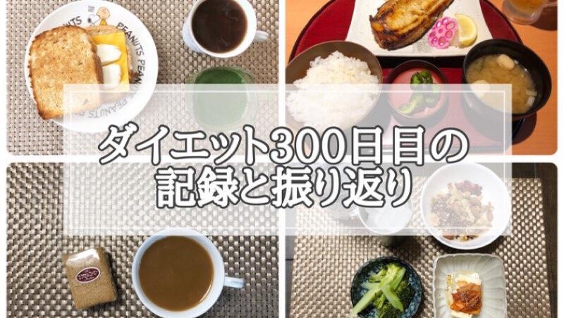 ゆる糖質制限ダイエット300日目に食べたものの画像