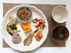 ゆる糖質制限ダイエットお昼ご飯の画像
