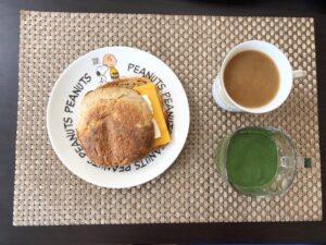 ゆる糖質制限ダイエット朝ごはんの画像