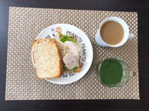 ゆる糖質制限ダイエットの朝ごはんの画像の画像