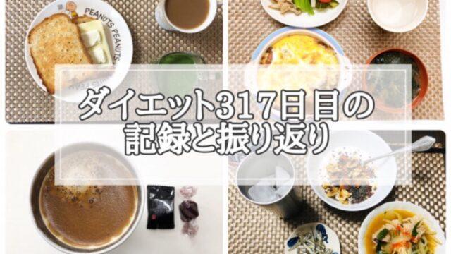 ゆる糖質制限ダイエット317日目に食べたものの画像