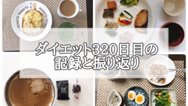 ゆる糖質制限ダイエット320日目に食べたものの画像