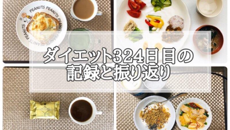 ゆる糖質制限ダイエット324日目に食べたものの画像