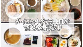 ゆる糖質制限ダイエット373日目に食べたものの画像