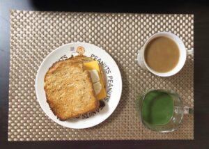 ゆる糖質制限ダイエットの朝ご飯の画像