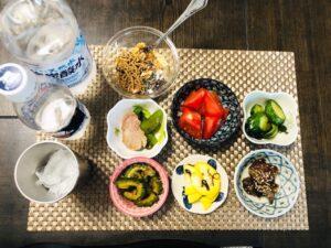 ゆる糖質制限ダイエットの夜ごはんの画像