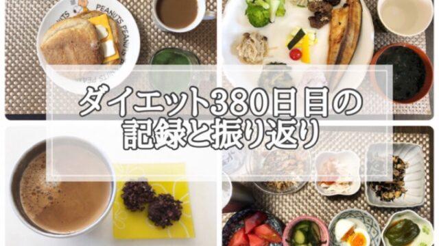 ゆる糖質制限ダイエット380日目に食べたものの画像