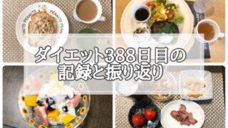 ゆる糖質制限ダイエット388日目に食べたものの画像