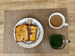 ゆる糖質制限ダイエットの朝ごはんの画像