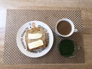 ゆる糖質制限ダイエットの朝ごはんのあ画像