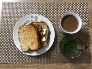ゆる糖質ダイエットの朝ごはんの画像